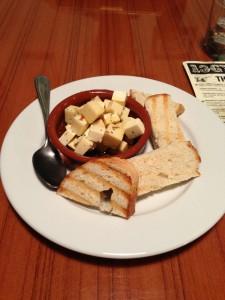 Marinated Cheese @ 13 Gypsies Riverside Tapas