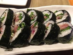 Black n Bleu Sushi Roll