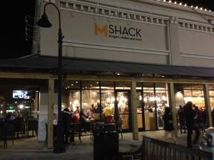 M Shack Burgers