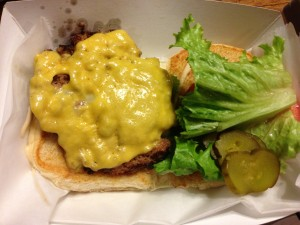 M Burger @ M Shack Burgers
