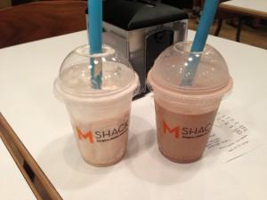 Shakes @ M Shack Burgers