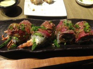 Surf n Turf Sushi Roll