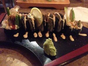 Jalapeno Tempura Sushi Roll @ Cafe du Japon