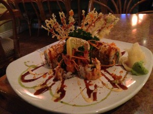 Oh My God Sushi Roll @ Cafe du Japon