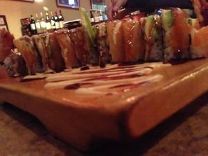 Pink Samurai Sushi Roll @ Cafe du Japon