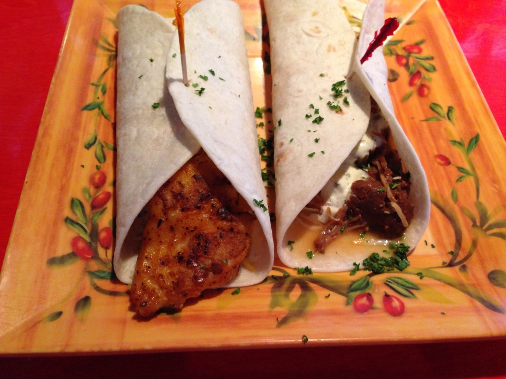 Lolas Burrito Joint Fish Taco and Carnitas Taco
