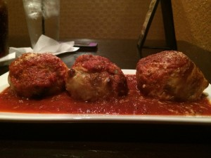 Meatballs @ Taste Food Studio