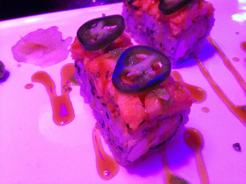 Sashimi Fusion Mexican Bubble Roll