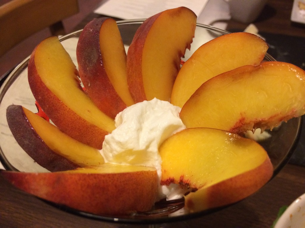 Tapa That Peaches and Cream