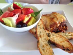 Eggplant Lasagna @ Tres Leches