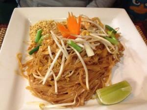 Pad Thai @ Thai Orchid