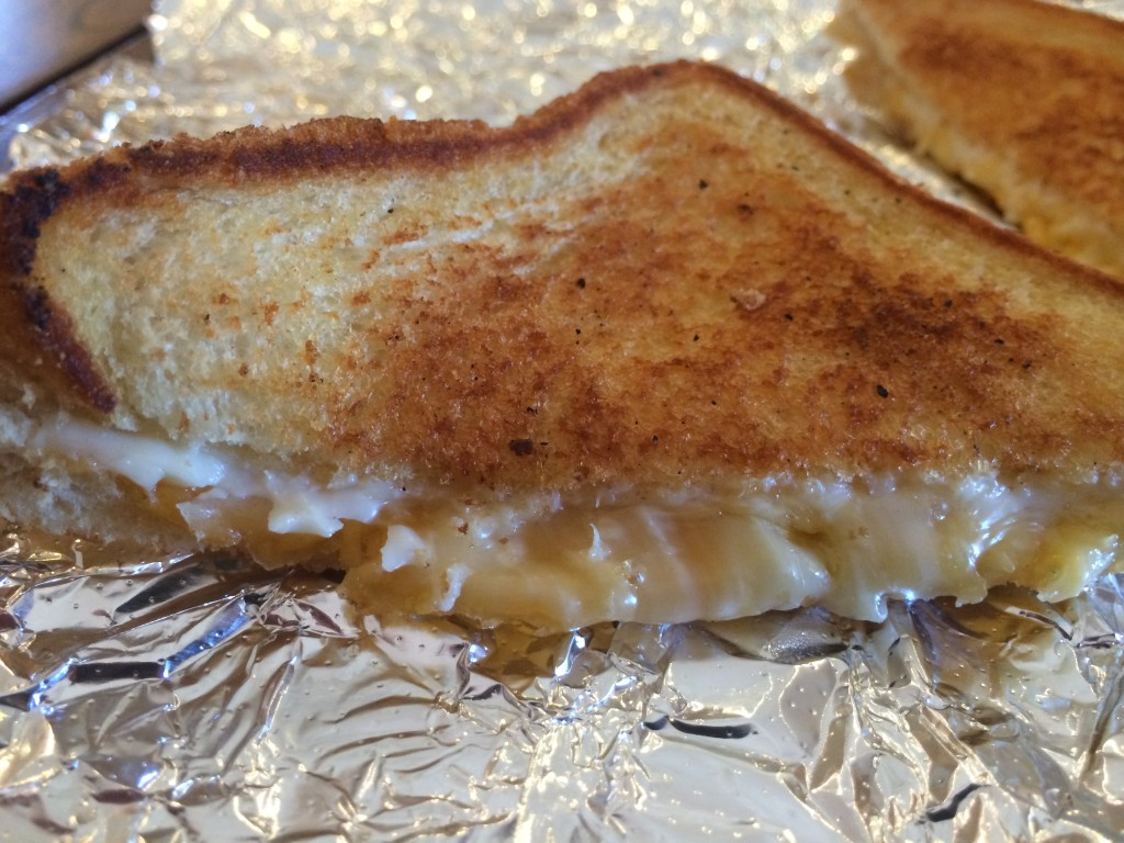 the Happy Grilled Cheese Happy Melt