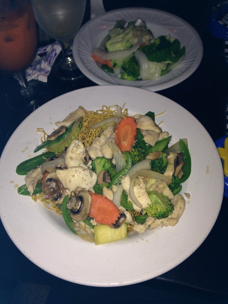 Aroy Thai Fusion - Chicken Hong Kong Crispy Noodle