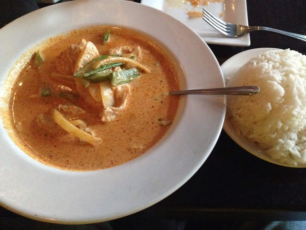 Aroy Thai Fusion - Panang Curry