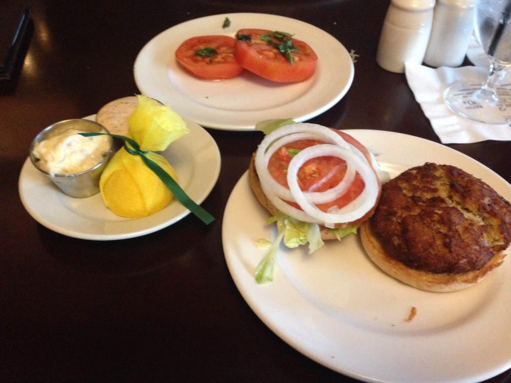 Bold City Grill Crab Cake Sandwich