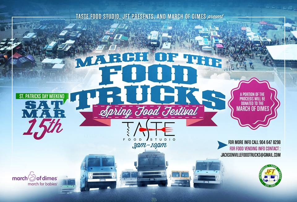 March of the Food Trucks