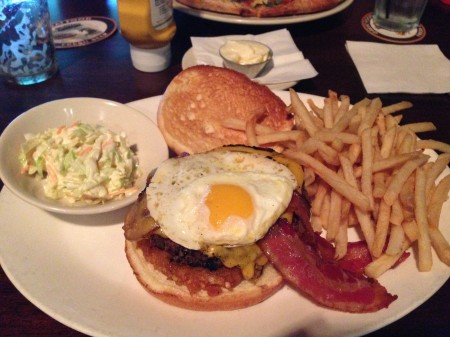 Seven Bridges - 2AM Burger Platter