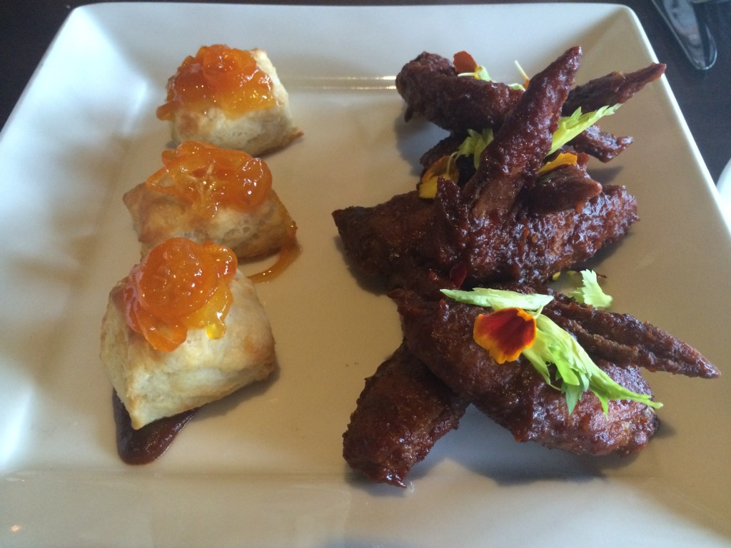 Flying Iguana - Chicken and Biscuits