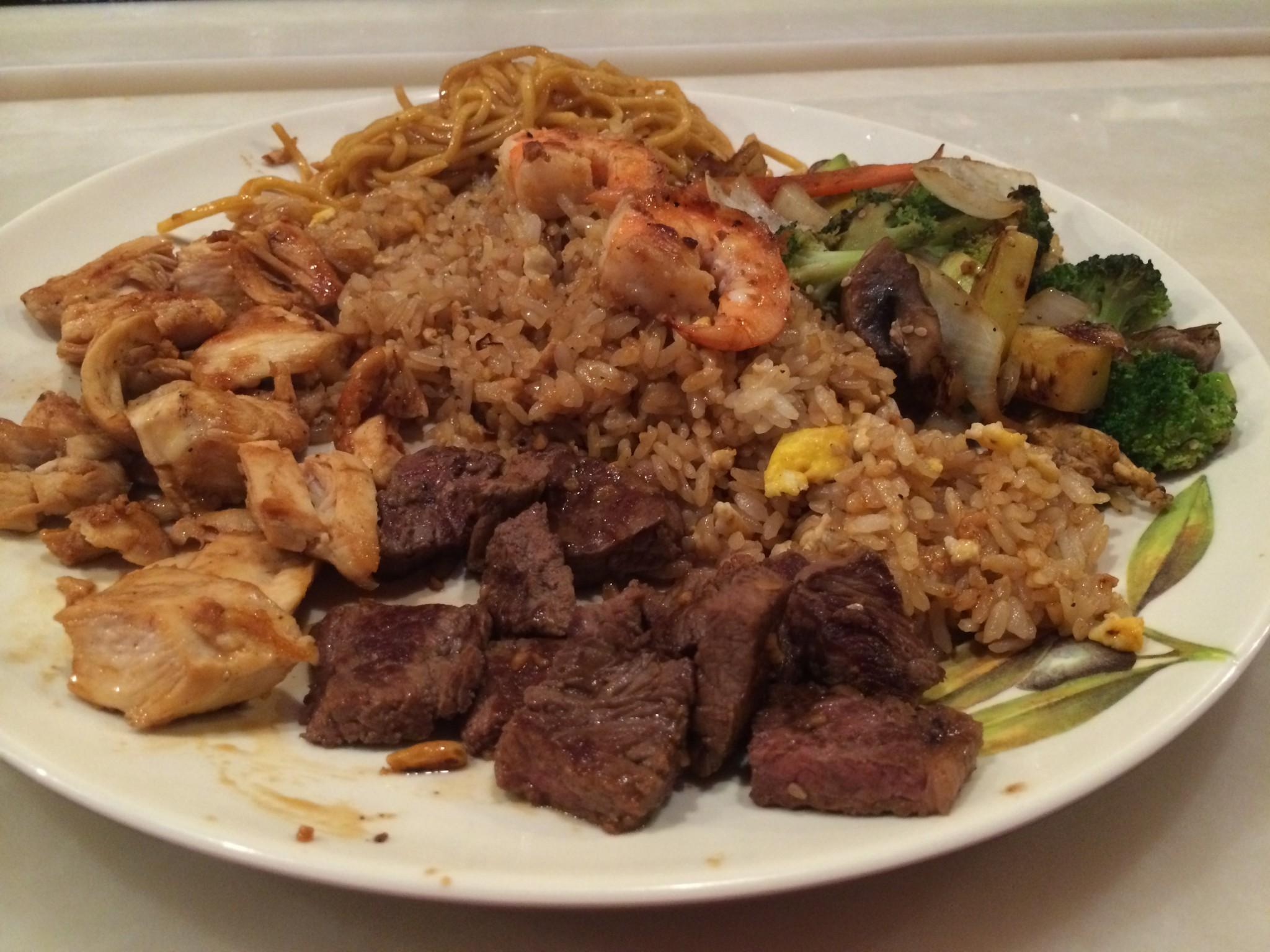 Hibachi Restaurant Food Tell Me