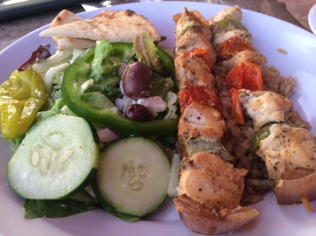 Zoes - Chicken Kabobs