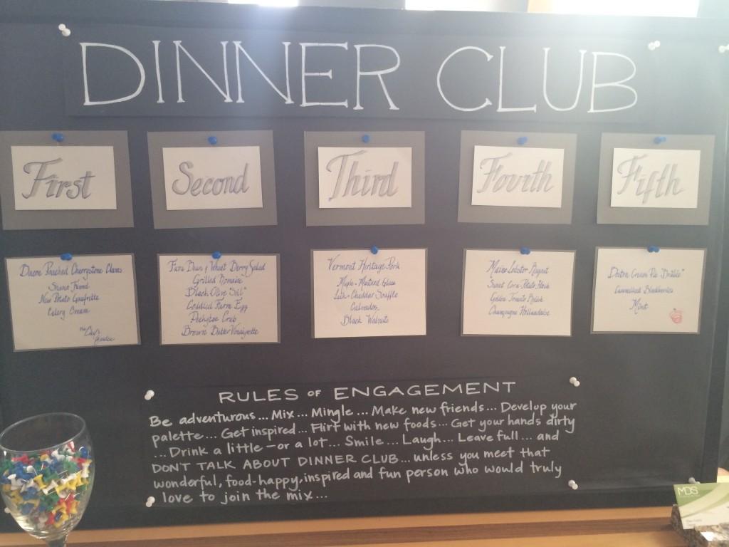 Chefs Garden - Dinner Club