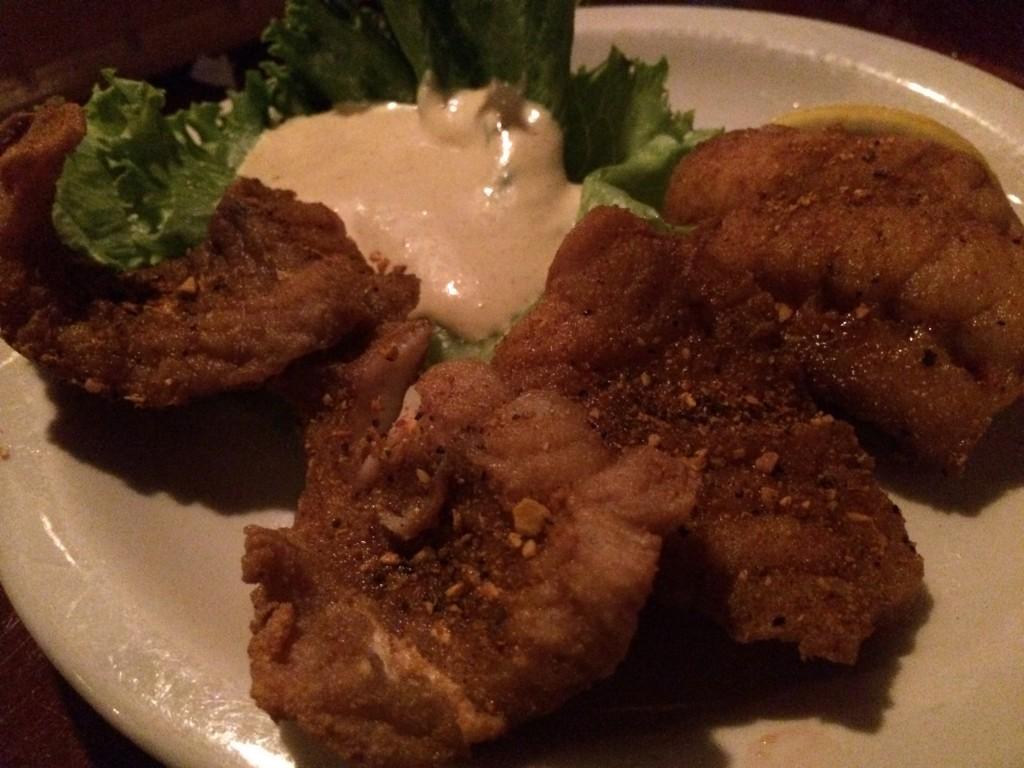 Chowder Teds - Tile Fish Appetizer