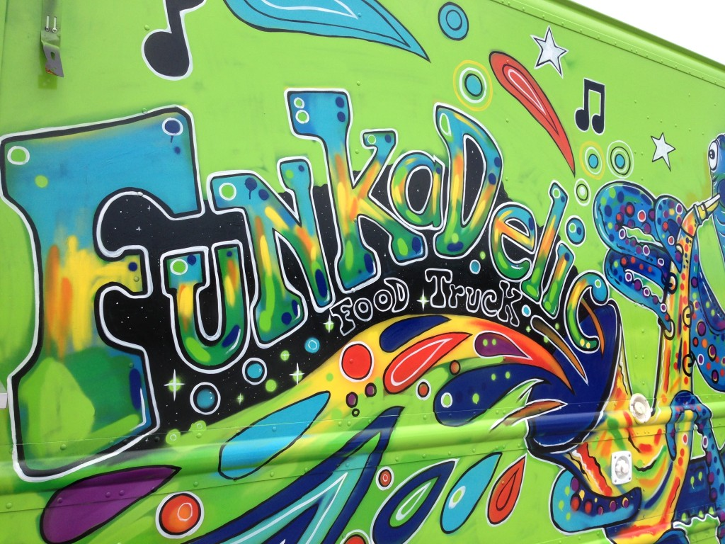Funkadelic Food Truck - Logo