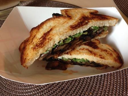 Funkadelic Food Truck - Portabello Sandwich