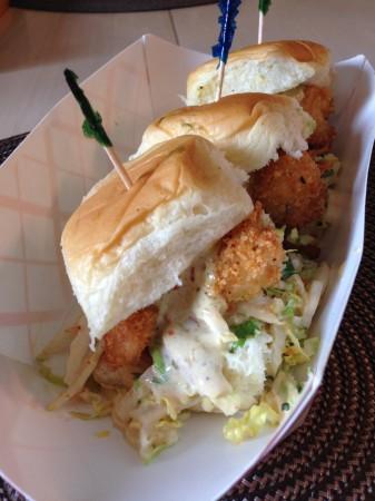 Funkadelic Food Truck - Shrimp Sliders