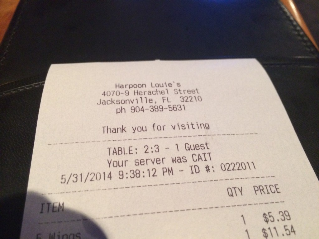 Harpoon Louie Needs Spelling Lessons...or a GPS