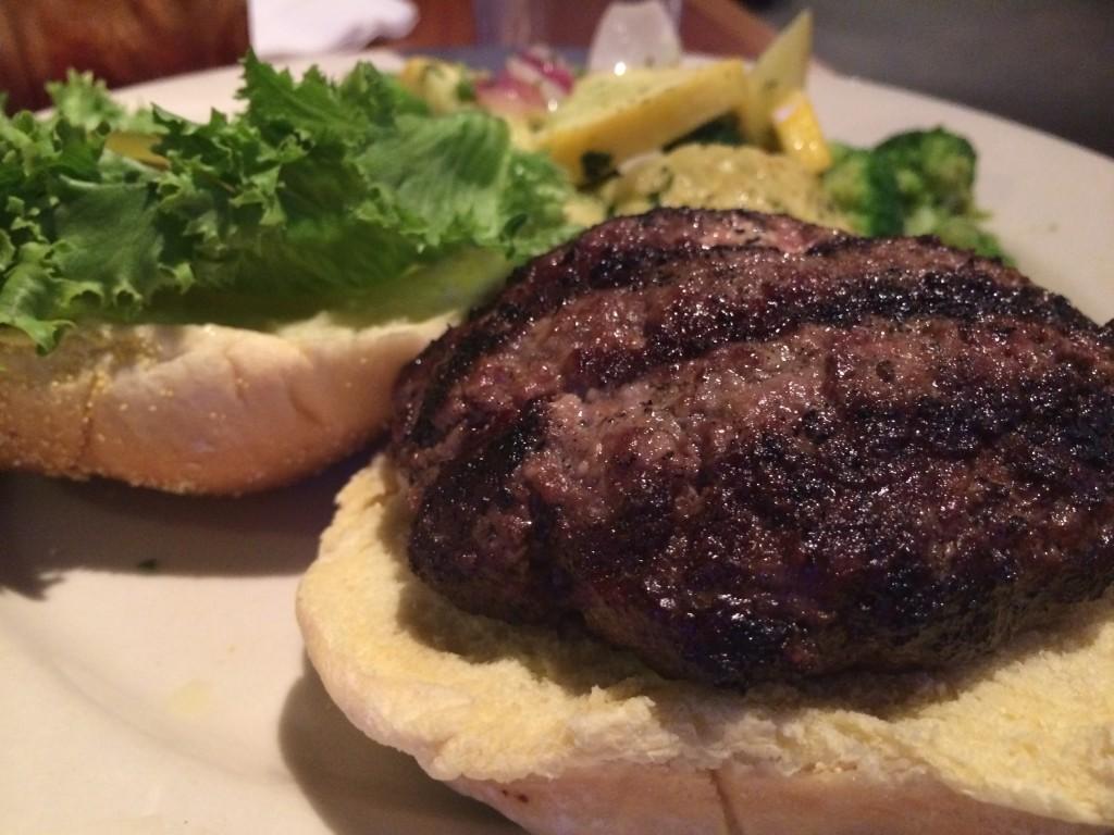 Harpoon Louies - Blue Cheese Stuffed Burger