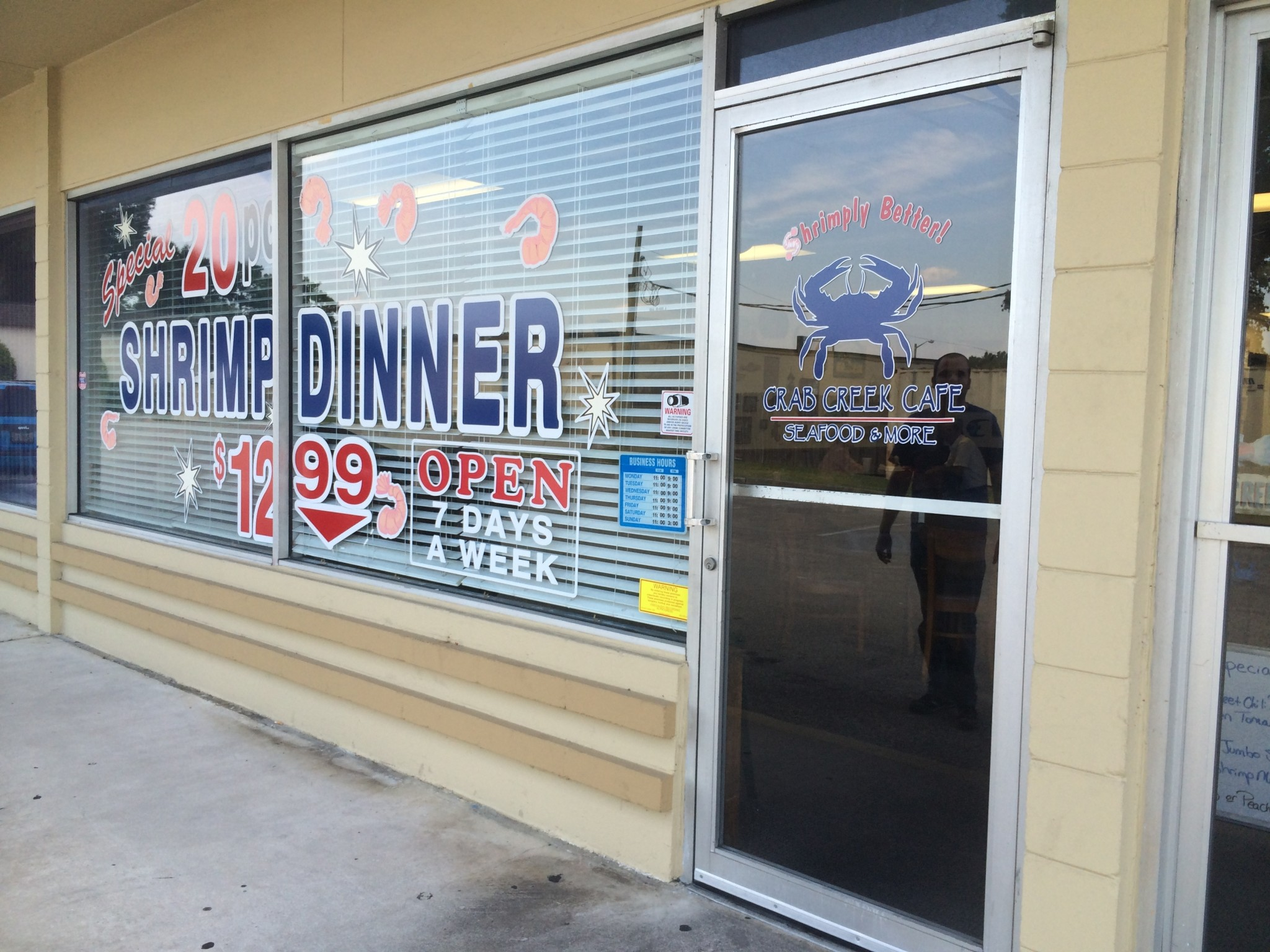 Crab Creek Cafe - Crumbly Grouper, Scary Bad [CLOSED] - Jacksonville ...