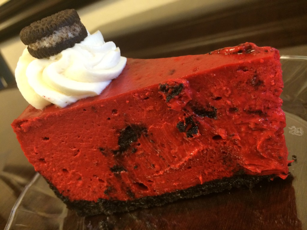 Ameretti Red Velvet Oreo Cheesecake