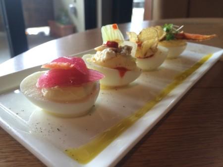Moxie Kitchen + Cocktails - Deviled Eggs