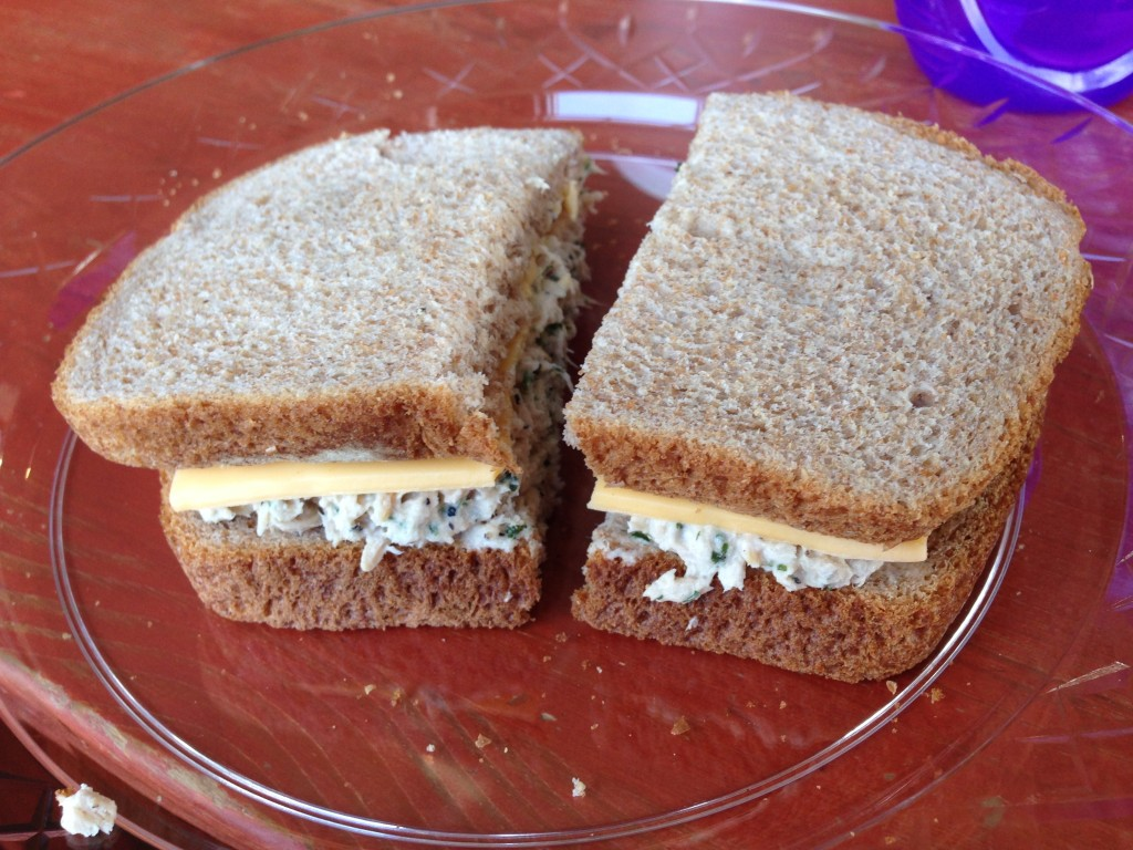 Sippers Coffeehouse - Tuna Sandwich