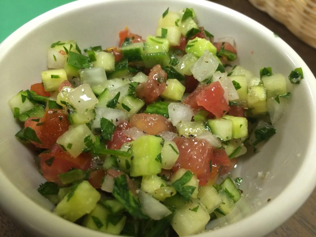 Cafe Kabob - Shirazi Salad