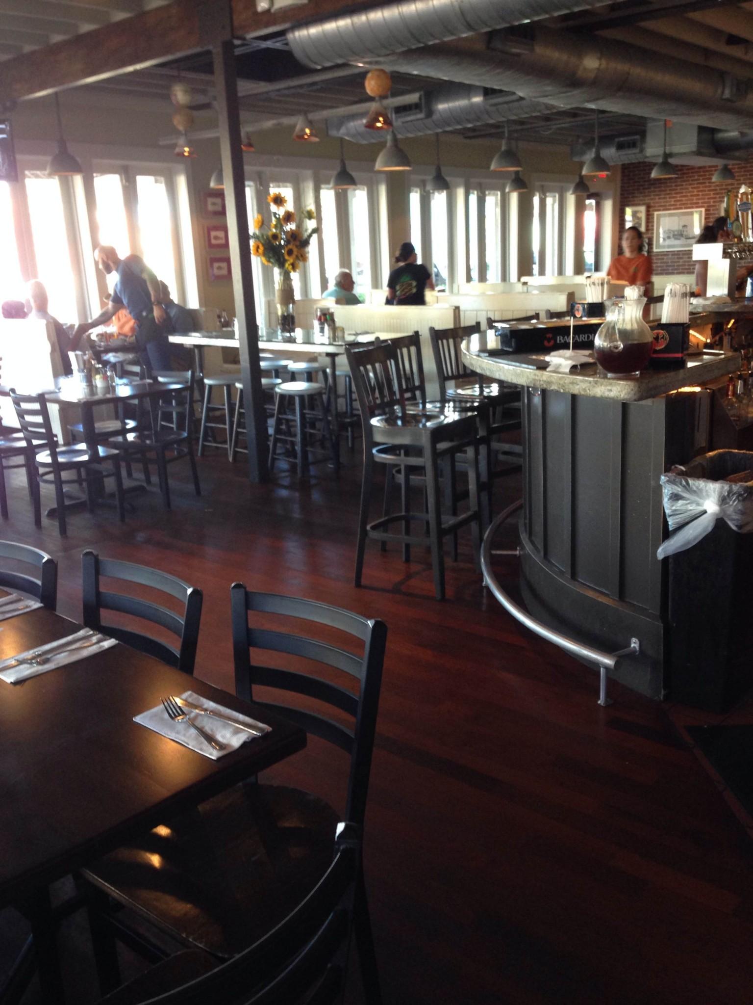 north beach fish camp interior jacksonville restaurant