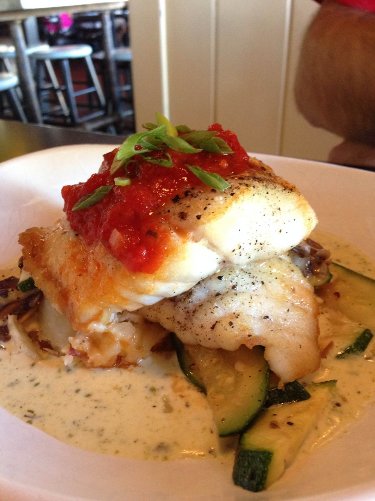 North Beach Fish Camp - Pan Seared Grouper