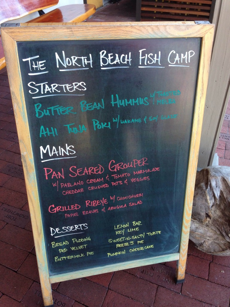 North Beach Fish Camp - Specials