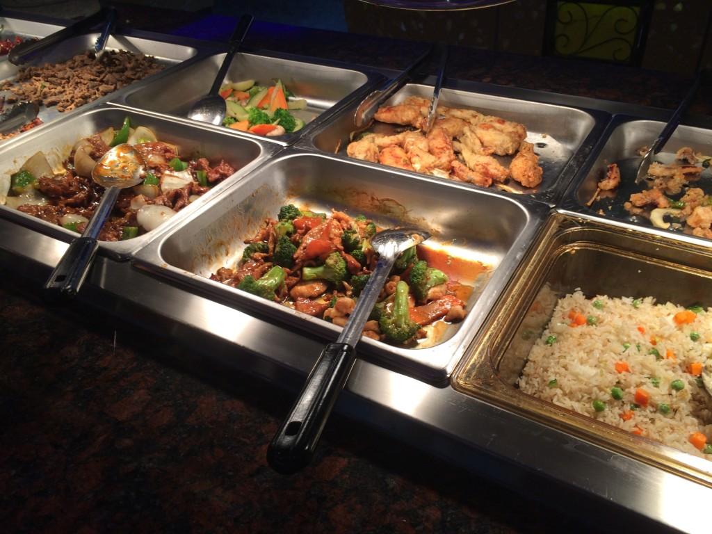 Sakura Buffet - Hot Food