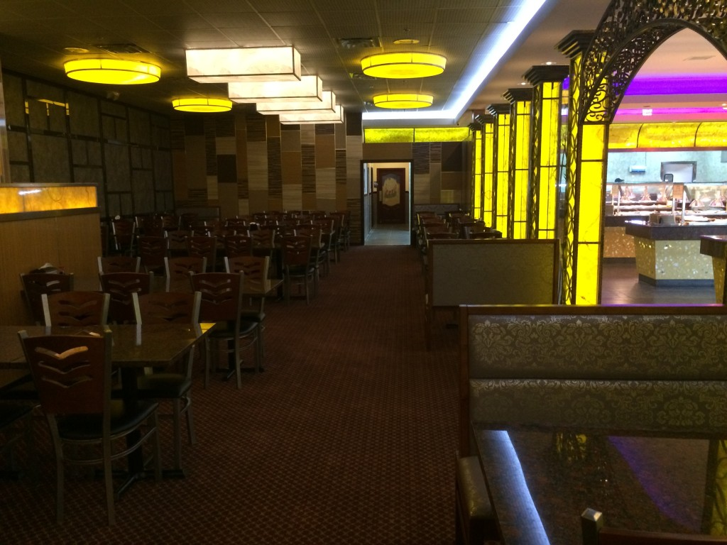 Sakura Buffet - Interior