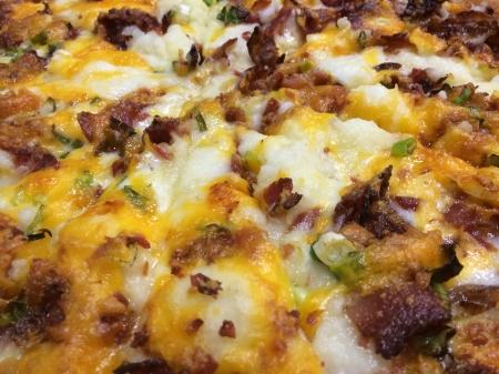 Mama Qs - Mashed Potato Pizza