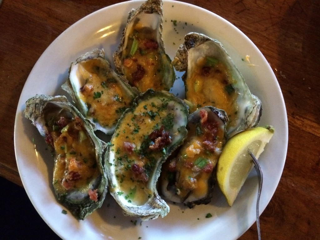 Sliders - Oysters Casino