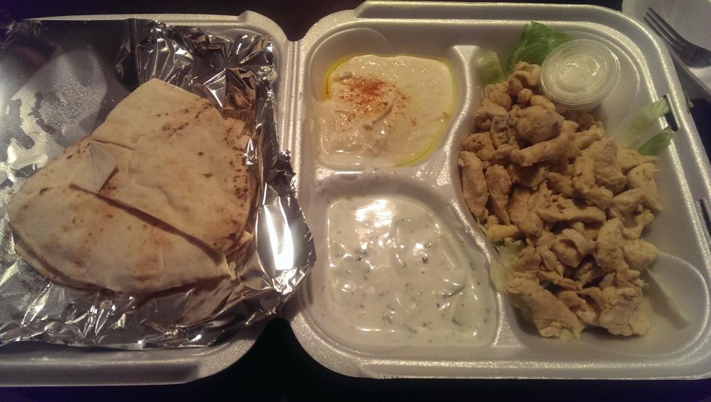 Yalla - Chicken Shwarma