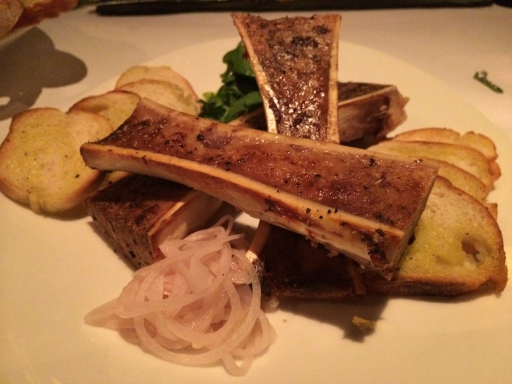 Bistro Aix - Veal Bone Marrow Canoes