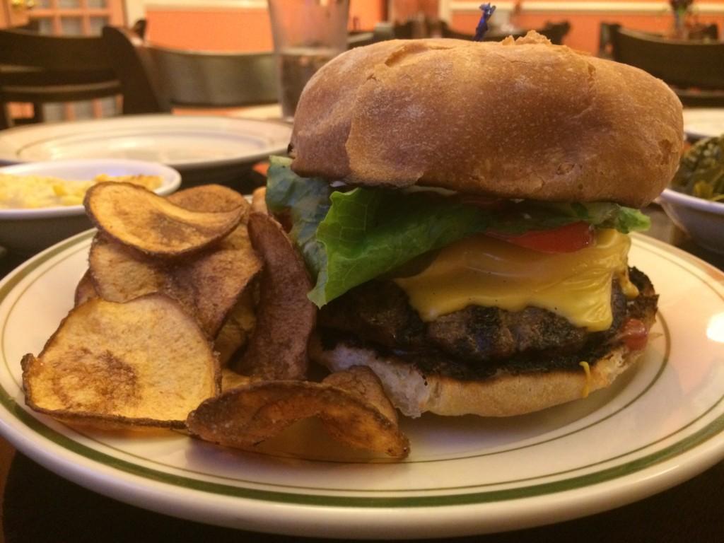 Simply Saras - Burger
