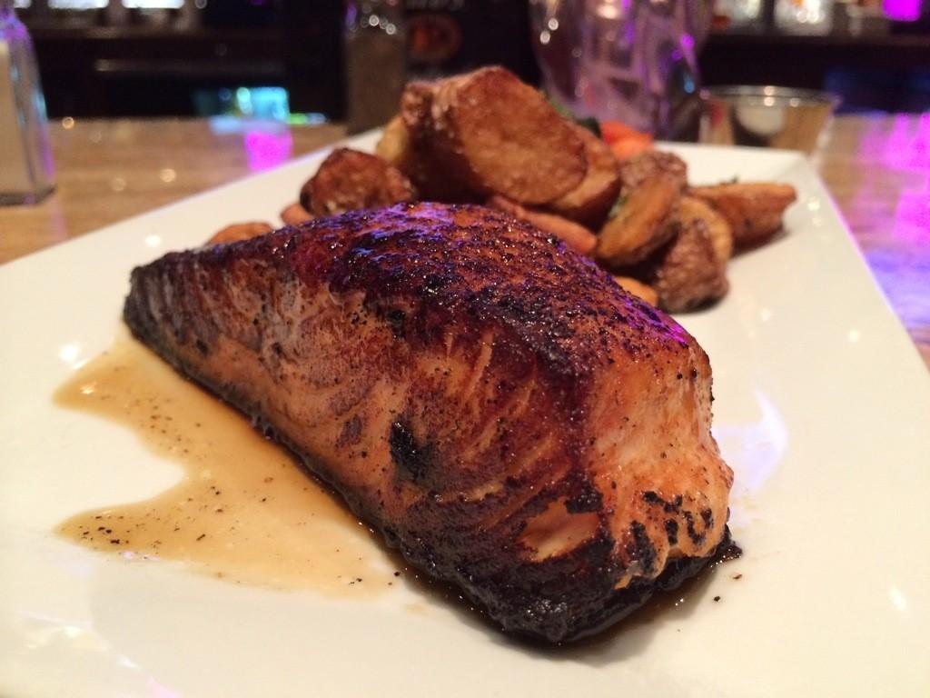 Whiskey Jax - Bourbon Salmon