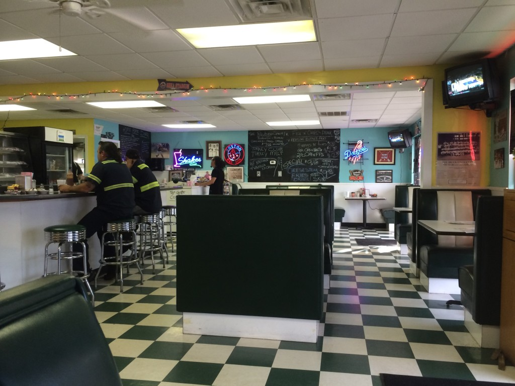 Home Plate Diner - Interior