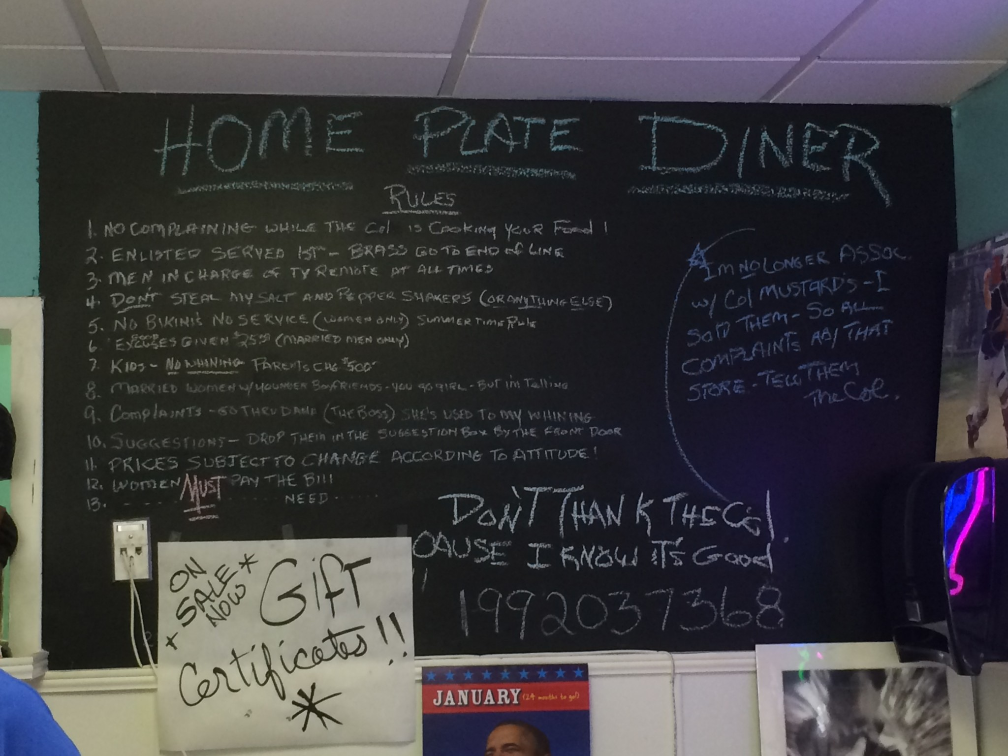 Home Plate Diner - Rules & Home Plate Diner - A Quirky Place with Solid Breakfast and Lunch ...