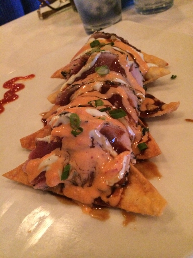 Marlin Moon Grille - Tuna Nachos